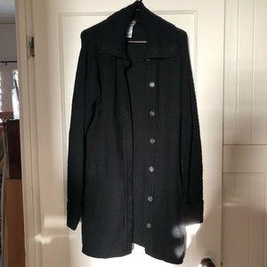 Patagonia 100% Merino Wool Cardigan Coat